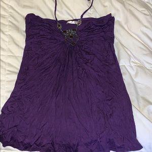Purple gem top